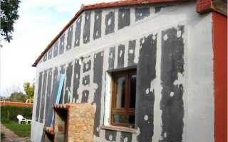 Наружные работы: правильное использование фасадной шпаклевки