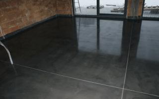 Подготовка и устройство бетонного основания пола