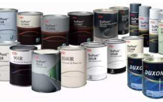 Грунты для кузовного ремонта: виды и назначение