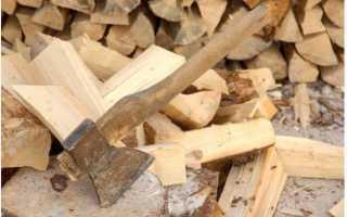 Расколи поленья. Секреты колки дров топором