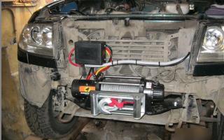 Выбор и установка лебедки на УАЗ Патриот