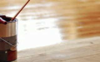 Каким лаком лучше покрыть деревянный пол