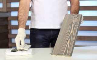 Как можно сделать патину на мебель своими руками