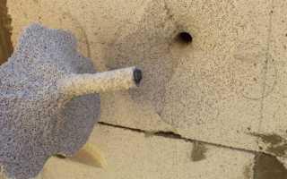 Крепеж для газобетона: виды, конструкции. Крепежные изделия