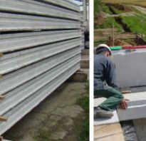 Размеры бетонных плит перекрытий и их особенности