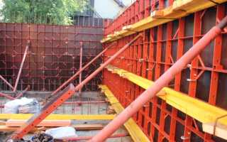 Мелкощитовая опалубка для монолитного строительства