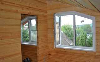 Пластиковые окна из ПВХ в частном доме