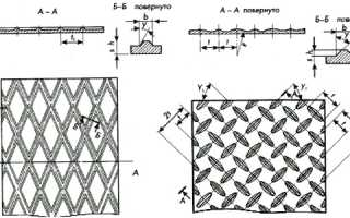 Лист рифленый ГОСТ 8568-77 (ромбическое и чечевичное рифление)