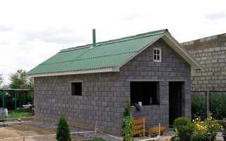 Как построить баню из блоков своими руками?