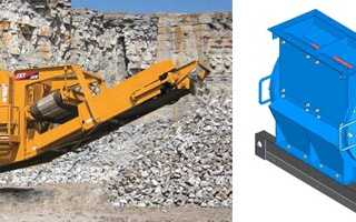 Грохоты, дробилки щебня, оборудование для дробления каменистых пород