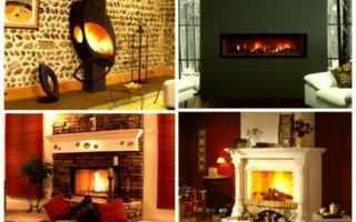 Какие бывают камины для отопления квартиры