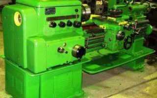 Токарно-винторезный станок 1К62. Электрическая принципиальная схема.