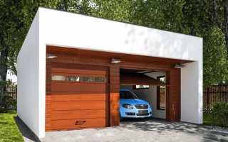 Строительство гаража из газобетона в Москве и области