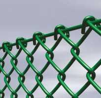 Забор из сетки рабицы своими руками: как натянуть