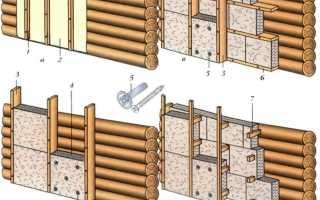 Отделка сруба деревянного дома