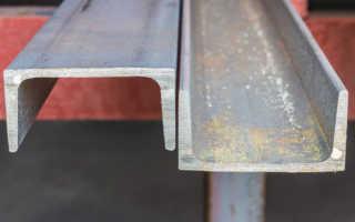Сортамент швеллеров – таблица размеров, маркировка по ГОСТ