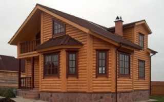 Дома обшитые блок хаусом фотографии и описание
