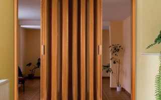 Межкомнатные двери-гармошка: особенности и преимущества (22 фото)