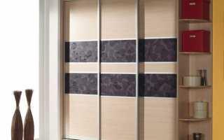 Какие материалы для дверей шкафа купе нужны?