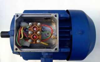 Реверсивное подключение однофазного асинхронного двигателя своими руками
