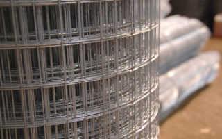 Характеристики и применение оцинкованной сварной сетки