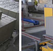 Мини производство газобетонных блоков: линия по производству