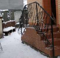 Как сделать лестницу перед входом в дом