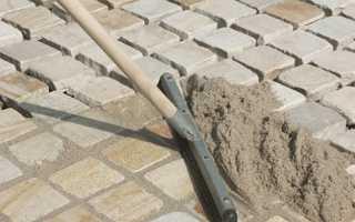 Что нужно знать о затирке швов тротуарной плитки