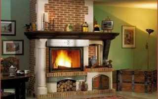 Разновидности дровянных каминов для частного дома