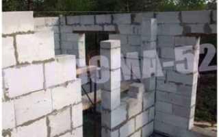 Особенности строительства дома 6 на 6 из газобетона