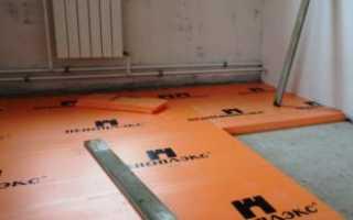 Укладка пеноплекса на бетонный пол 2020 год