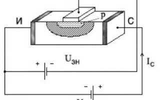 Принцип работы полевого транзистора для чайников