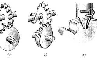 Изготовление зубчатых колес методом обкатки