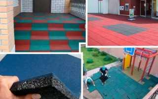 Выбор оборудования для производства резиновой плитки