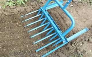 Вилы и электролопаты для копки земли на огороде