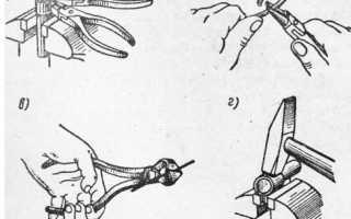 Гибка металла при помощи гибочного инструмента