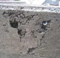 Дефекты бетона и бетонных полов (поверхностей): классификация