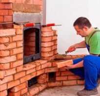 Приготовление глиняного и цементного раствора для кладки печи