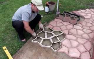 Как сделать формы для тротуарной плитки своими руками?