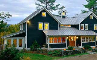 Фасад каркасного дома: варианты и способы отделки