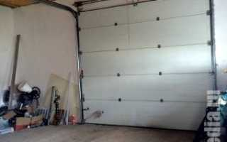 Бетонирование пола гаража своими руками