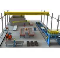 Технологическая линия по производству плит перекрытий «ПК 72.15 Бизнес»