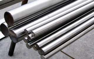 Вес круга из стали и других металлов