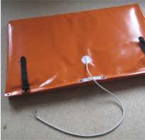 Термомат для прогрева бетона 0,9х3,8 м 400 вт/м2