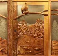 Установка деревянной двери своими руками – цена с коробкой