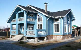 Покраска деревянных домов снаружи: материалы и технология