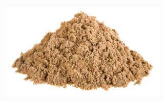 Песок: формула, характеристики. Песок строительный