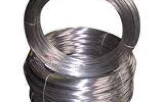 Какая проволока используется для производства пружин?