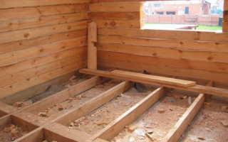 Как правильно утеплить деревянный пол в частном доме?