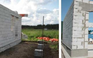Как построить гараж из газобетона своими руками: 5 этапов